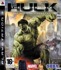 Portada oficial de The Incredible Hulk para PS3