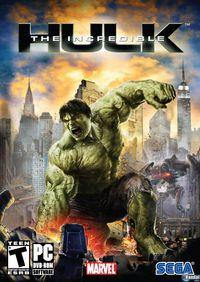 Portada oficial de The Incredible Hulk para Xbox 360