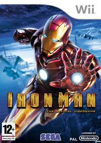 Portada oficial de Iron Man para Wii