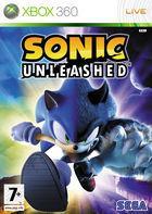 Portada oficial de Sonic Unleashed para Xbox 360