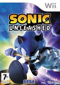 Portada oficial de Sonic Unleashed para Wii