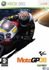 Portada oficial de Moto GP 08 para Xbox 360