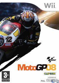 Portada oficial de Moto GP 08 para Wii