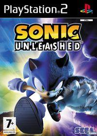Portada oficial de Sonic Unleashed para PS2