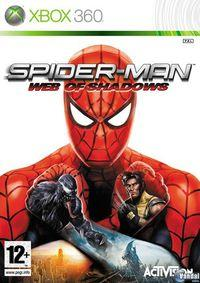 Portada oficial de Spider-Man: Web of Shadows para Xbox 360