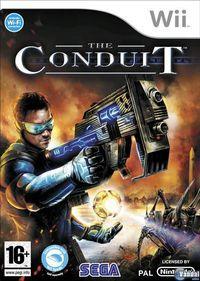 Portada oficial de The Conduit para Wii