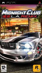 Portada oficial de Midnight Club: LA Remix para PSP