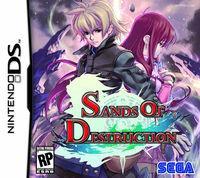 Portada oficial de Sands of Destruction para NDS
