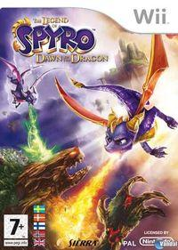 Portada oficial de Legend of Spyro: Dawn of the Dragon para Wii