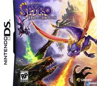 Portada oficial de Legend of Spyro: Dawn of the Dragon para NDS