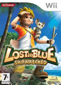 Portada oficial de Lost in Blue: Shipwrecked! para Wii