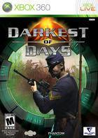 Portada oficial de Darkest of Days para Xbox 360