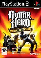 Portada oficial de Guitar Hero World Tour para PS2