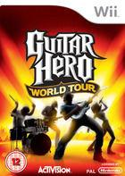 Portada oficial de Guitar Hero World Tour para Wii