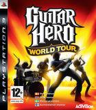 Portada oficial de Guitar Hero World Tour para PS3
