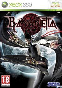 Portada oficial de Bayonetta para Xbox 360