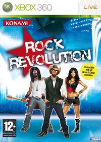 Portada oficial de Rock Revolution para Xbox 360