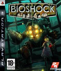 Portada oficial de BioShock para PS3