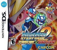 Portada oficial de Megaman Starforce 2 para NDS