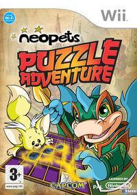 Portada oficial de Neopets Puzzle Adventure para Wii