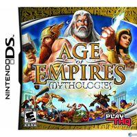 Portada oficial de Age of Empires: Mythologies para NDS