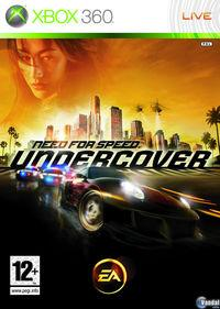 Portada oficial de Need for Speed Undercover para Xbox 360