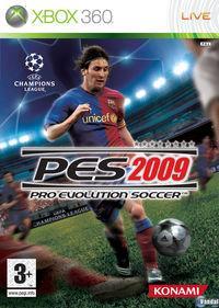 Portada oficial de Pro Evolution Soccer 2009 para Xbox 360