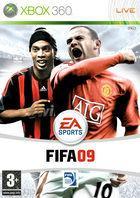 Portada oficial de FIFA Soccer 09 para Xbox 360