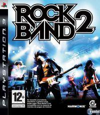Portada oficial de Rock Band 2 para PS3