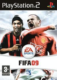 Portada oficial de FIFA 09 para PS2