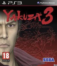 Portada oficial de Yakuza 3 para PS3