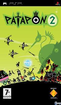 Portada oficial de Patapon 2 para PSP
