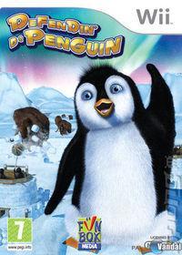 Portada oficial de Defendin' De Penguin para Wii