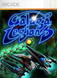 Portada oficial de Galaga Legions XBLA para Xbox 360