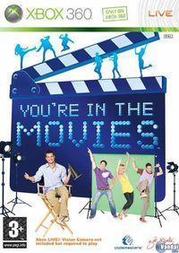 Portada oficial de You're in the Movies para Xbox 360