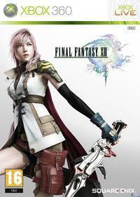 Portada oficial de Final Fantasy XIII para Xbox 360