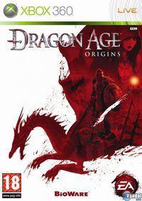 Portada oficial de Dragon Age: Origins para Xbox 360