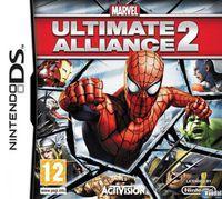 Portada oficial de Marvel Ultimate Alliance 2 Fusion para NDS