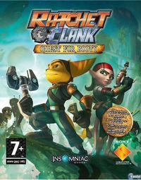 Portada oficial de Ratchet & Clank Future: En busca del Tesoro PSN para PS3