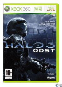 Portada oficial de Halo 3: ODST para Xbox 360