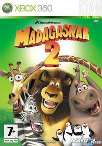 Portada oficial de Madagascar: Escape 2 Africa para Xbox 360