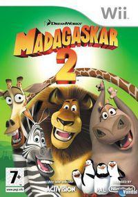 Portada oficial de Madagascar: Escape 2 Africa para Wii