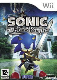 Portada oficial de Sonic y el Caballero Negro para Wii