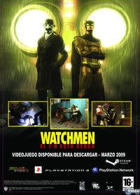 Portada oficial de Watchmen: The End is Nigh para PS3