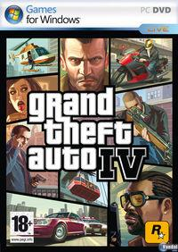 Portada oficial de Grand Theft Auto IV para PC