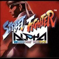 Portada oficial de Street Fighter Alpha PSN para PS3