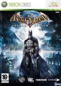 Portada oficial de Batman: Arkham Asylum para Xbox 360