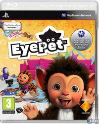 Portada oficial de EyePet para PS3
