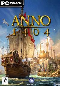 Portada oficial de Anno 1404 para PC