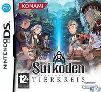 Portada oficial de Suikoden Tierkreis para NDS